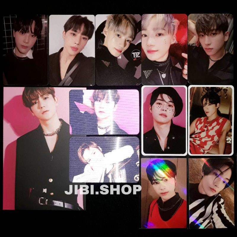Sharing The Boyz Chase The Stealer Official Album Photocard Pc Hyunjae Jacob Sangyeon Haknyeon Mmt Shopee Indonesia