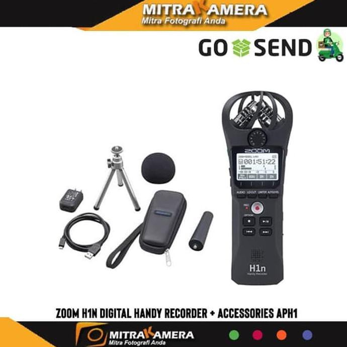Zoom H1 Handy Video Recorder Zoom Aph 1 Promo Spesial Shopee
