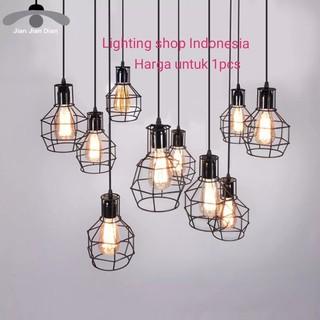 L690 lampu gantung hias decor vintage retro