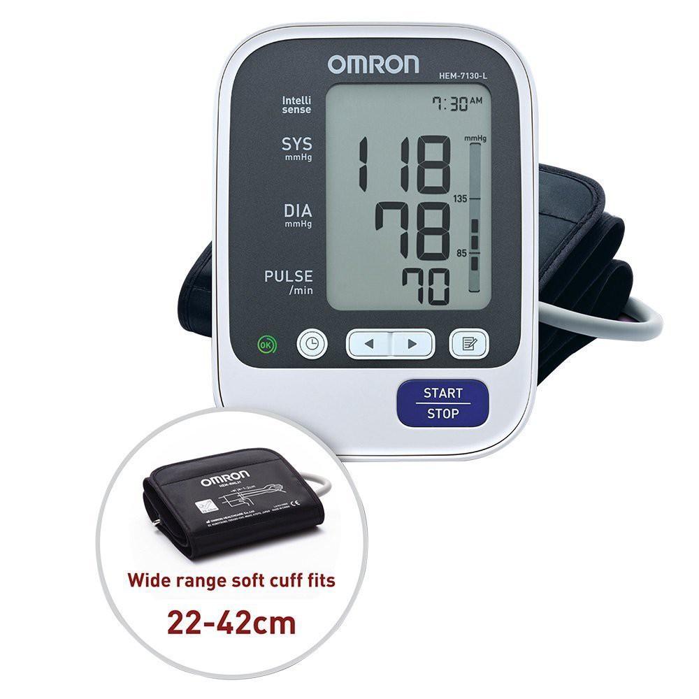 Tensimeter Digital Omron Hem 7130 Shopee Indonesia Jpn1 Blood Pressure Monitor