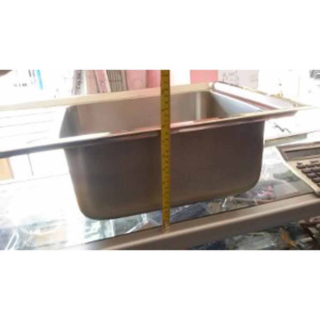 Wastafel Bak Cuci Piring Metalco Ms 36 18 Set Portable Knock Down Modena 40cm Orta Ks 2100 A Stainless Steel Harga Pabrik Shopee Indonesia