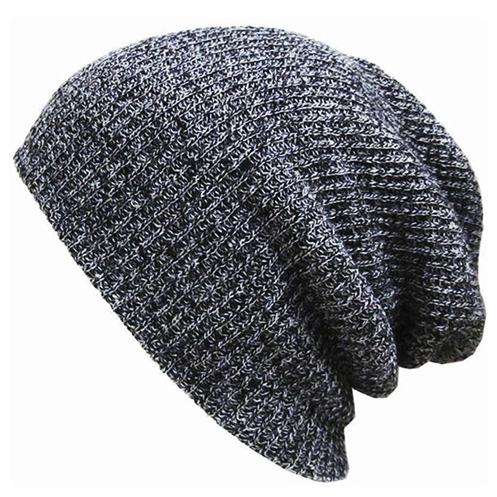 2019 Hot Selling!White Beanie Knit Ski Cap Hip-HopWinter Warm Unisex Hat