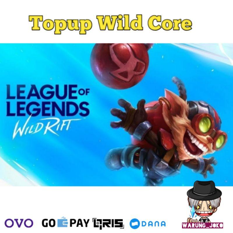 TOP UP Wild Core League of Legends Wild Rift Murah