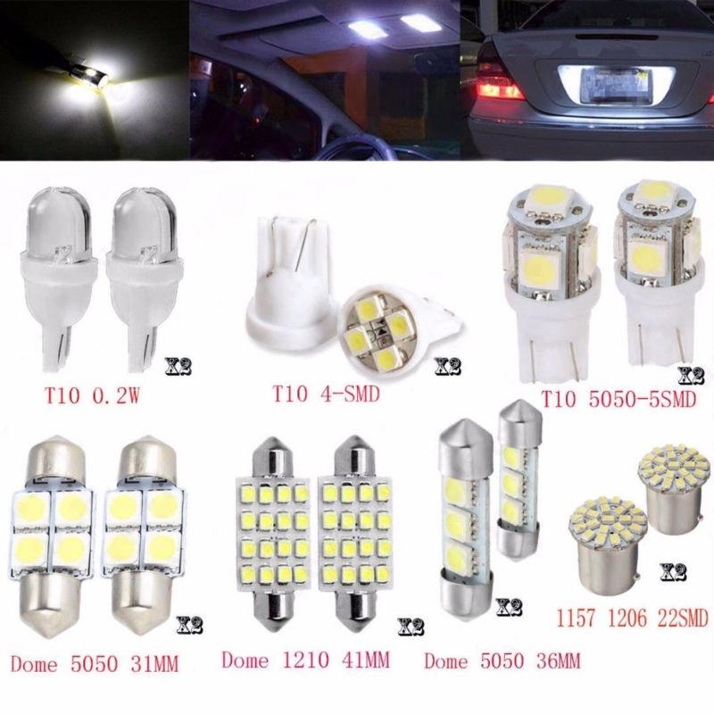 2Pcs Lampu LED Putih Super Terang T10 / T15 57SMD W5W 194   Shopee Indonesia