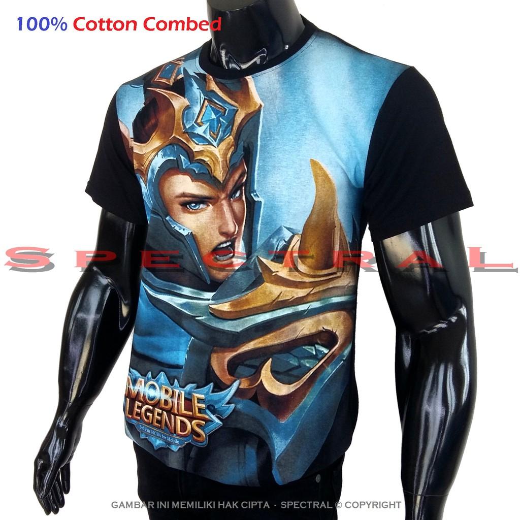 Kaos Distro Ir. Soekarno Garis 100% Cotton Combed T-Shirt Pria Baju Pakaian