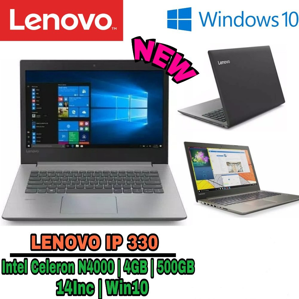 Lenovo Ideapad 120S Win10 Original Intel N3350 2GB 500GB 11,6 inch | Shopee Indonesia