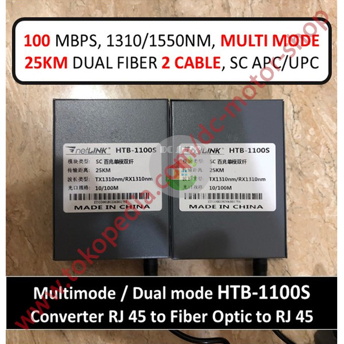 1Pair Fiber Optic Media Converter 1 CH*SC 1 CH*RJ45 Fiber Optic Transceiver 25KM