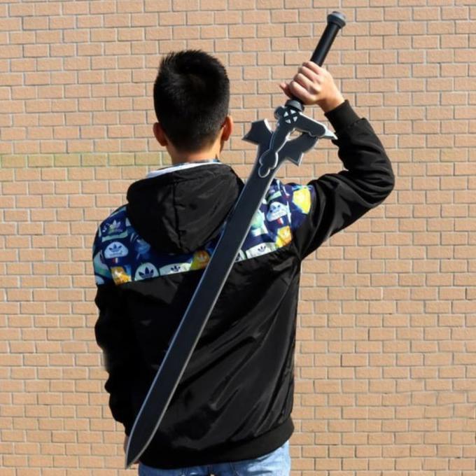 PEDANG KIRITO ELUCIDATOR SWORD ART ONLINE | PEDANG KIRITO SAO