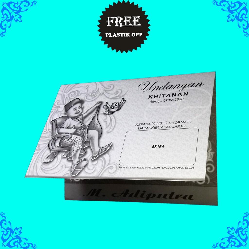 Kartu Khitanan Temukan Harga Dan Penawaran Surat Menyurat Online Undangan Kode Blangko 88187 Terbaik Buku Alat Tulis November 2018 Shopee Indonesia