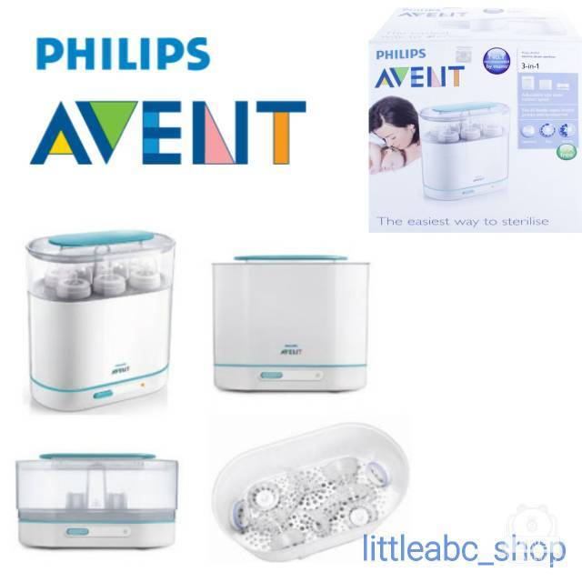 Philips Avent 3 in 1 Electric Steam Sterilizer / Steril Botol | Shopee Indonesia