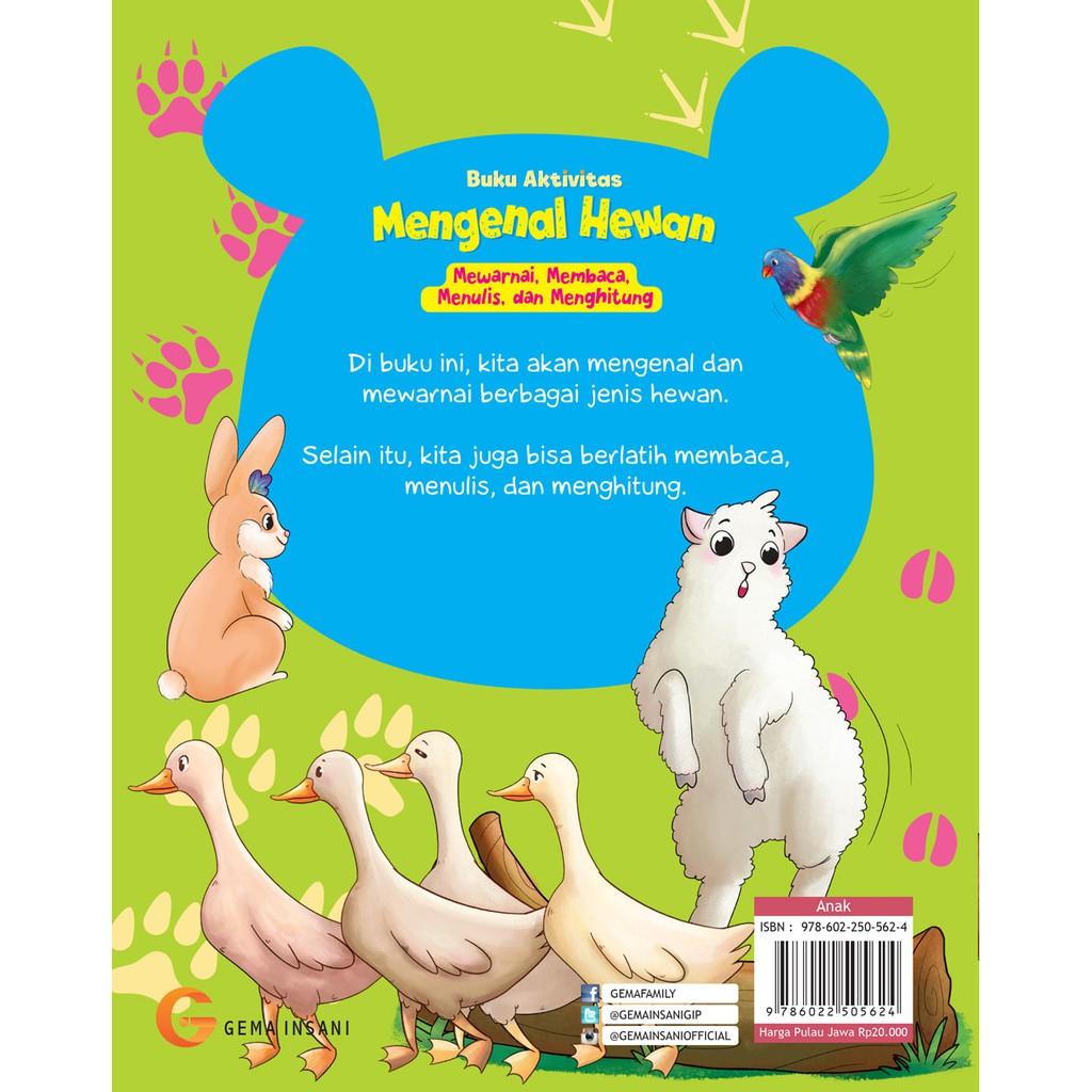 Buku Aktivitas Mengenal Hewan