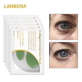 LANBENA 24K Masker Mata Kolagen Emas untuk Anti Aging Kerut 7