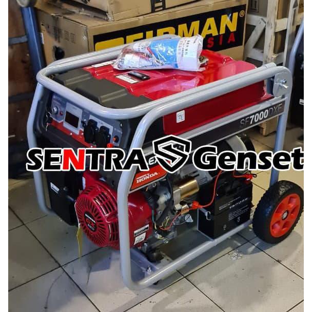 Generator / Genset / Genset Honda 5000 5500 Watt. Honda Excell Sf7000Dxe