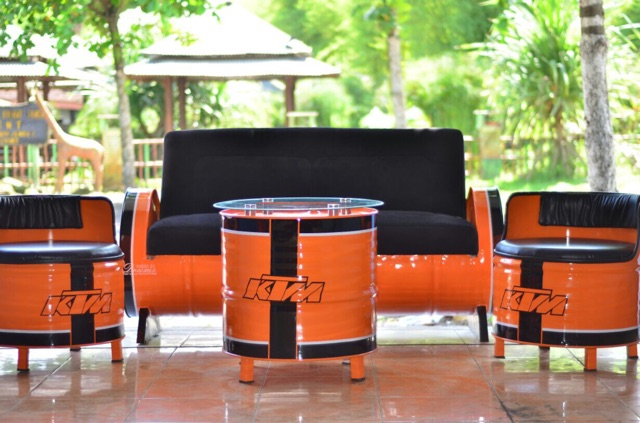 Kursi Custom Alternative Furniture Dari Tong Bekas Shopee Indonesia