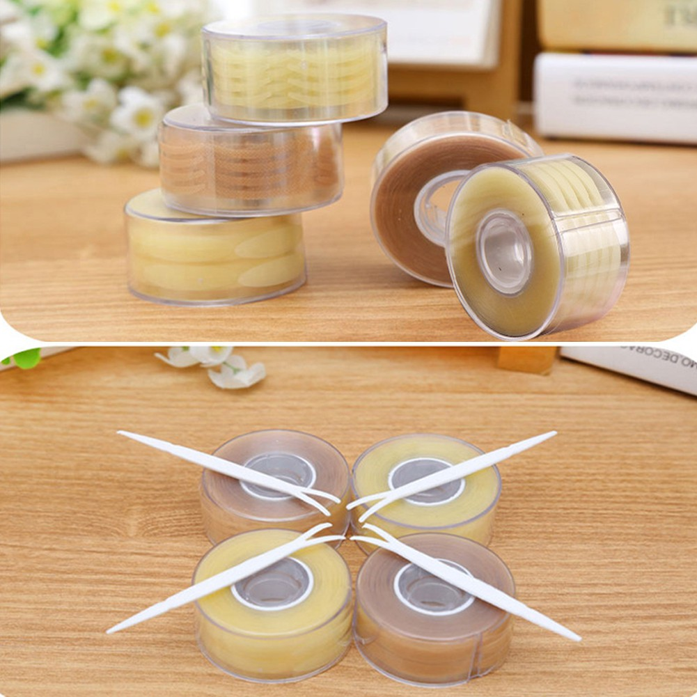 Pcs 120 Thin Invisible Eyelid Double Lace Sticker Tape Eye Shopee Jacquelle Lily Indonesia