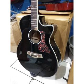 Gitar Akustik Elektrik Hitam Merk Taylor Murah Jakarta Aw 23 Suka 5
