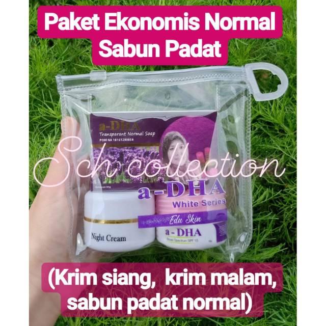a-DHA white series spf 15/ paket ekonomis normal spf 15   Shopee Indonesia
