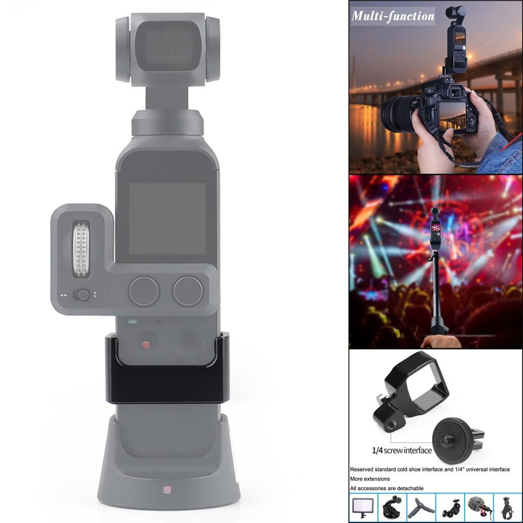 "1//4/"" 3//8/"" Hole Handlebar Bracket Kit for DJI Osmo Pocket Camera Clamp Mount"