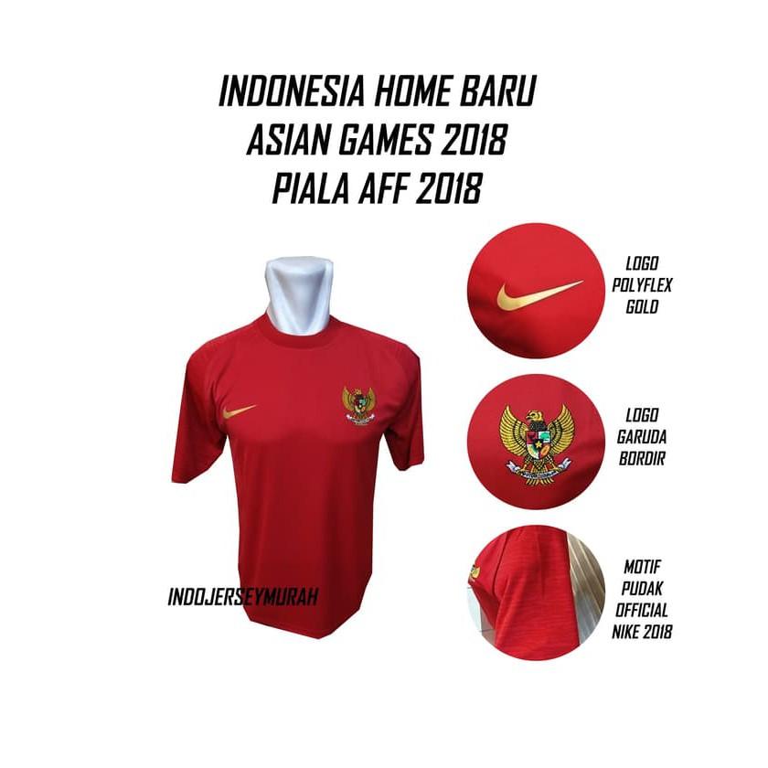 DISKON JERSEY BADMINTON BAJU BULUTANGKIS TIMNAS INDONESIA ASIAN GAMES 2018 GRADE ORI TERMURAH !! | Shopee Indonesia