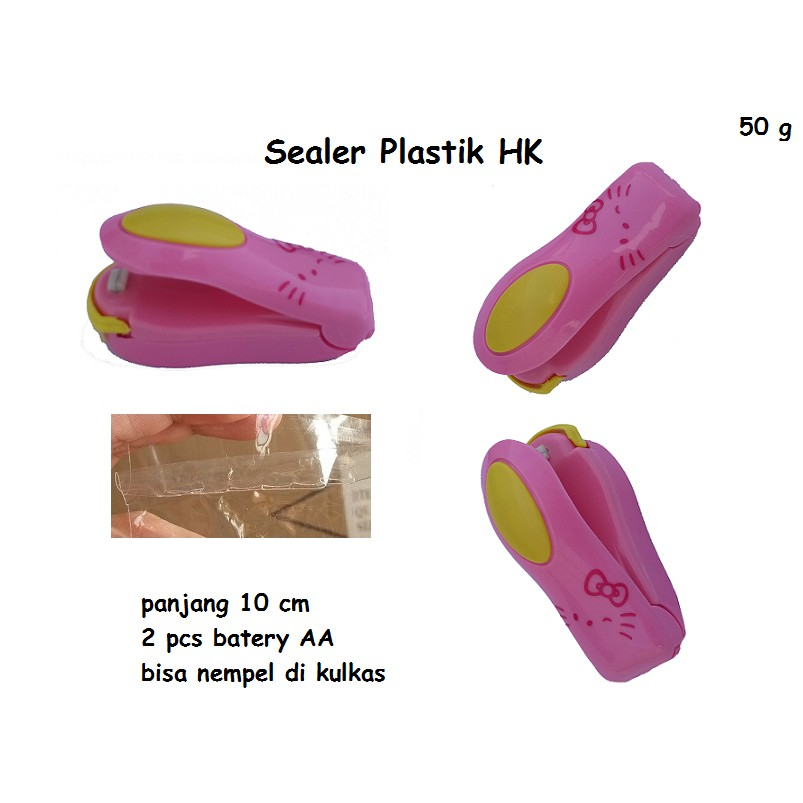 HAND SEALER MINI / NEW HAND SEALER plastik sealer mini generasi gen2 seal snack | Shopee Indonesia