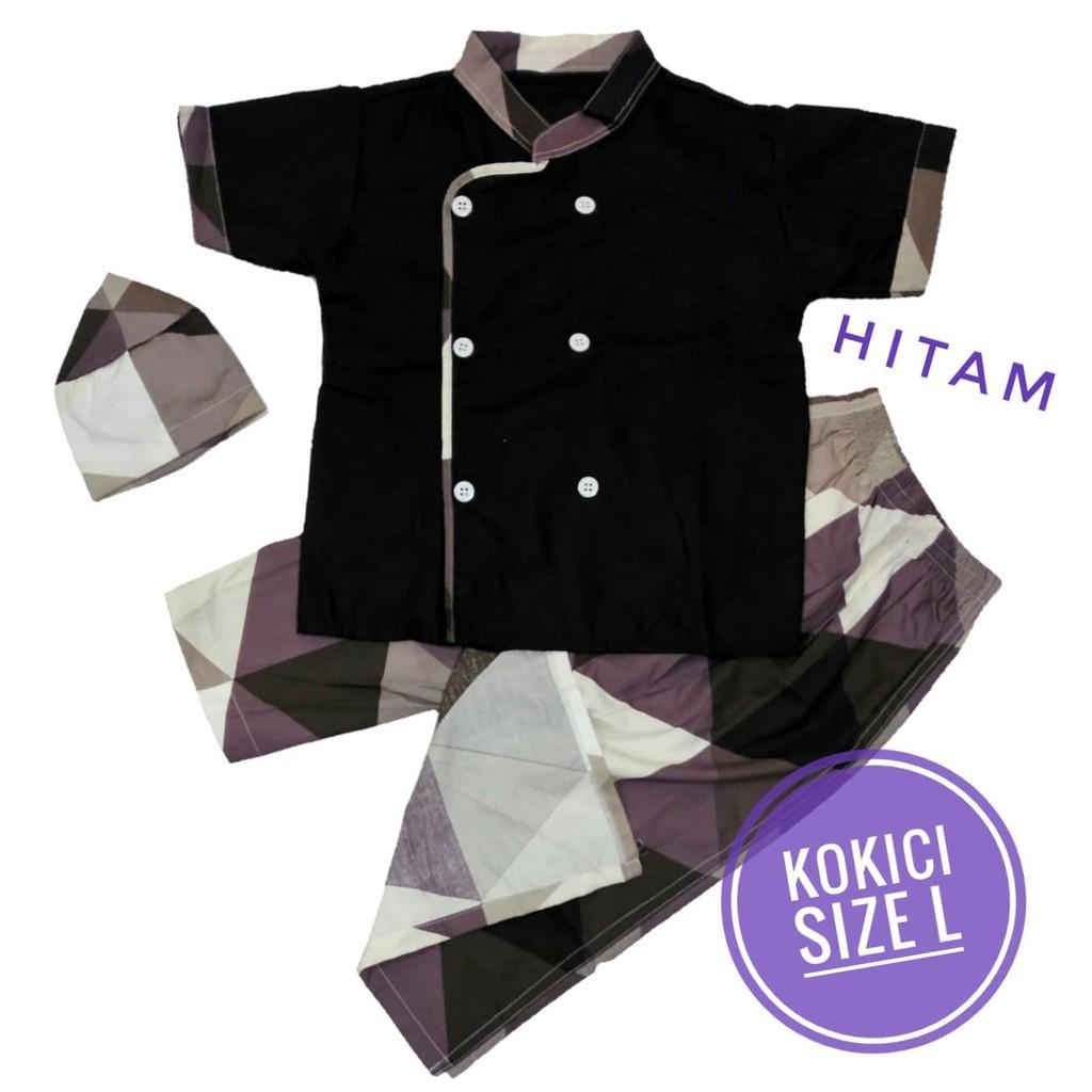 KOKICI Size M Koko Anak Sarung Celana Peci Model Koki Usia 2-3 tahun Koko bayi balita | Shopee Indonesia
