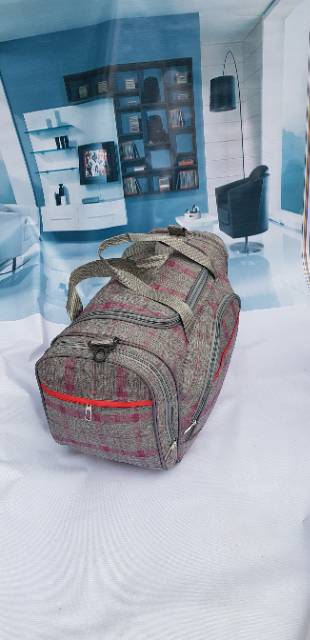 Tas pakaian travel elle paris ukuran besar TAS TRAVEL PRIA WANITA FREE  ONGKIR BIG SIZE b70b6f1e66