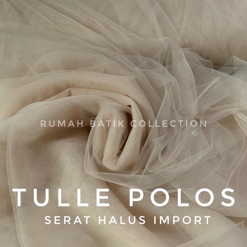 Kain Tile Polos Murah Premium Soft Tulle Shopee Indonesia