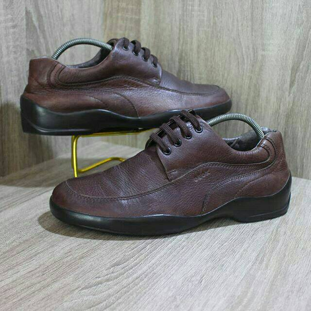 Sepatu Geox Respira Original Second Kulit Asli Shopee Indonesia