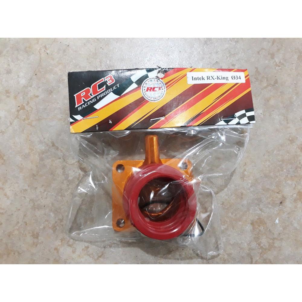 Intake Manifold Rx King Shopee Indonesia Manipul Manifol Intek Insulator Karburator