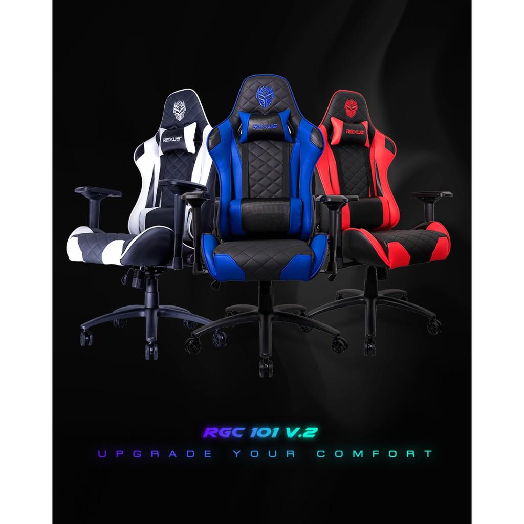 Rexus RGC 101 Gaming Chair - Kursi Gaming RGC101 | Shopee ...