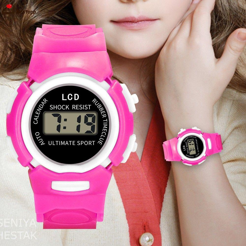 Promosi Lebaran Lcd Panggilan Jam Tangan Wanita Elektronik Anak Anak Blingblingshopping Id Shopee Indonesia