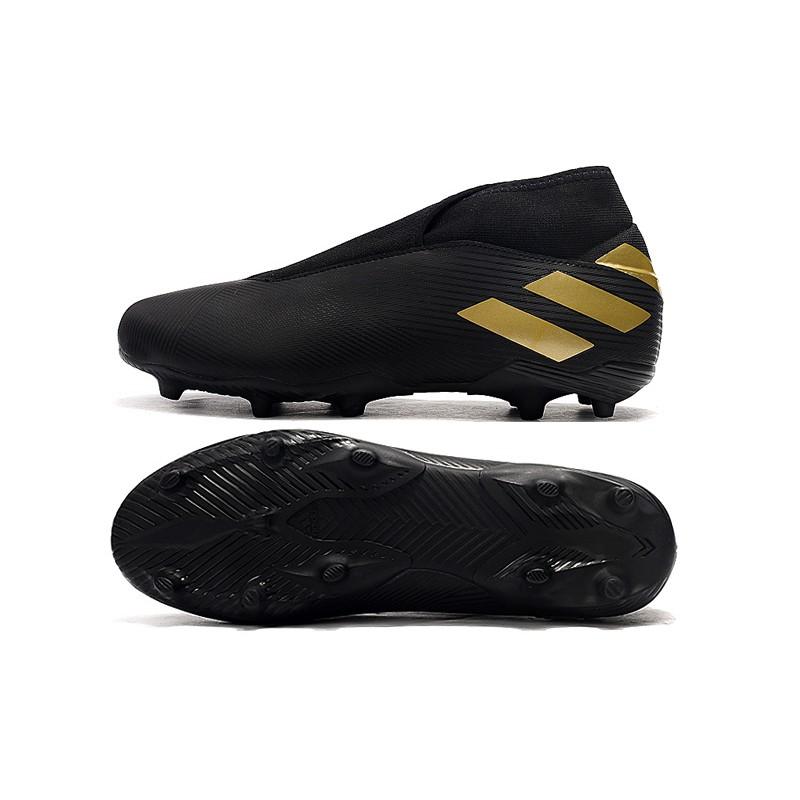 Asli 100 Sepatu Bola Pria Adidas Tanpa Tali Sepatu Nemeziz 19 3