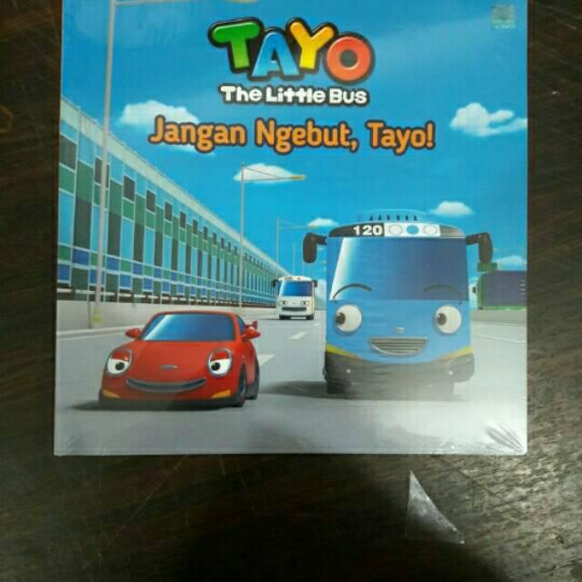 Tayo The Little Bus Hari Yang Menyenangkan Tayo Menjadi Guru Buku Cerita Anak Bergambar Kado Shopee Indonesia