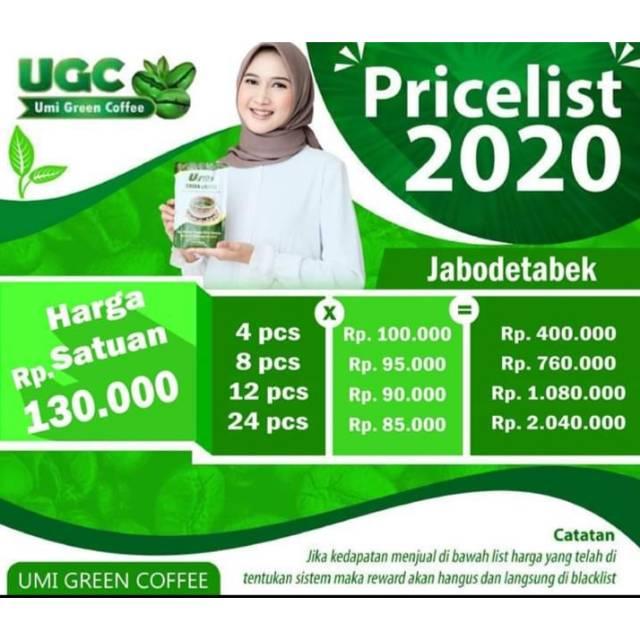 UMI GREEN COFFEE ORIGINAL | Shopee Indonesia