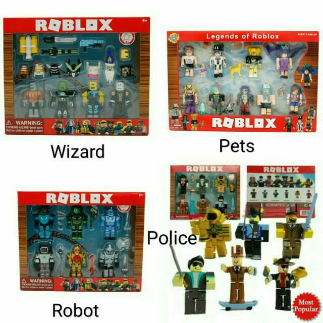 Roblox figure 6/9pcs action figure champion of roblox