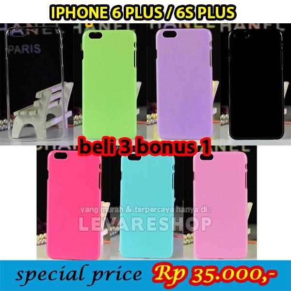 Hardcase Casing IPHONE 6 PLUS / 6S PLUS / 6+ / 6S+ Hard Case Polos