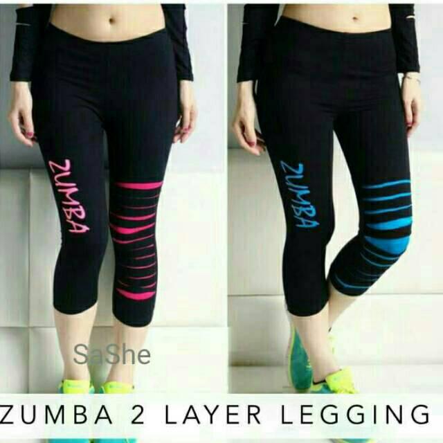 Legging Celana Olahraga Zumba Senam Aerobik Yoga Murah Shopee Indonesia