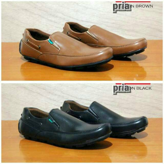 Sepatu casual santai kerja pria   Shopee Indonesia -. Source · Louis Visto sepatu pria formal kulit asli model LV 314 black