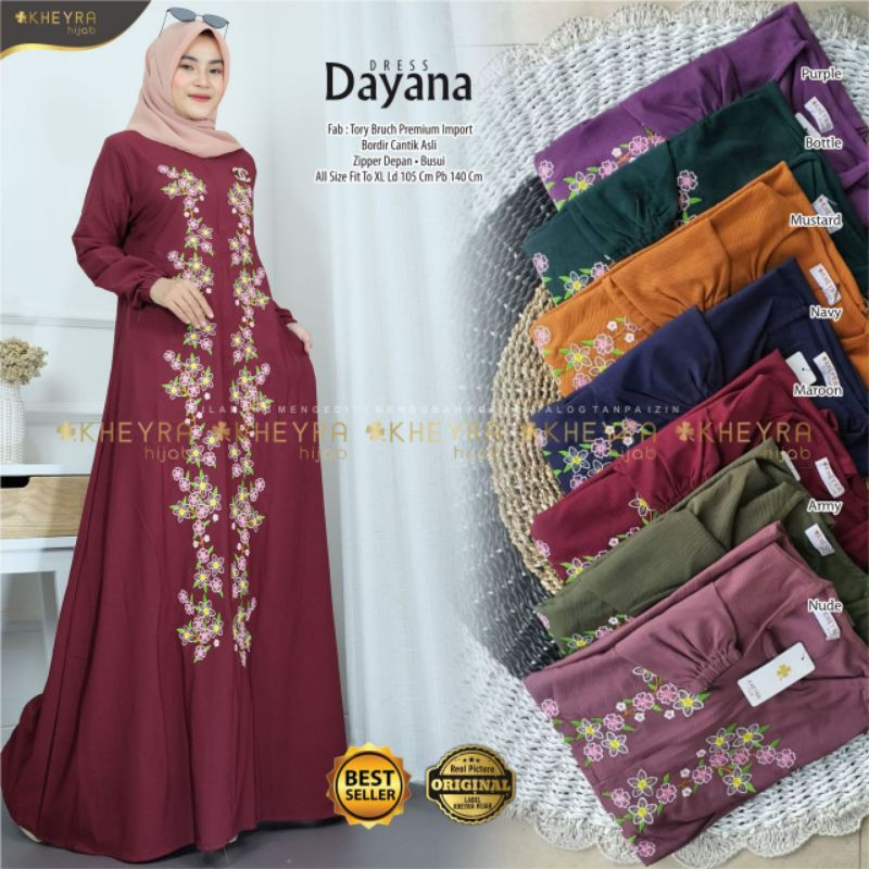 Dayana dress by keyra original