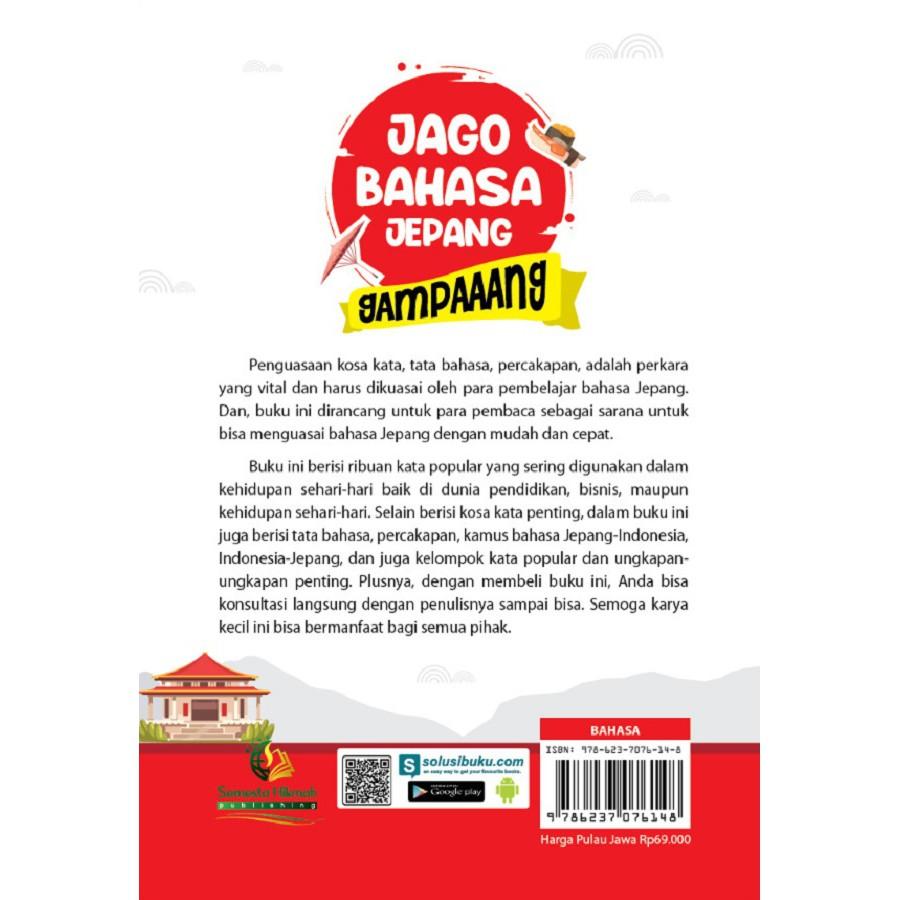 New Buku Jago Bahasa Jepang Gampaaang Semesta Hikmah