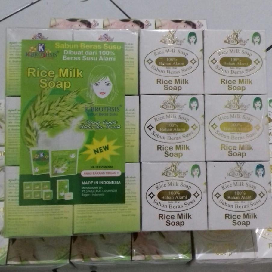 Sabun Beras Bpom Rice Milk Soap Bpom K Brothsis Shopee Indonesia