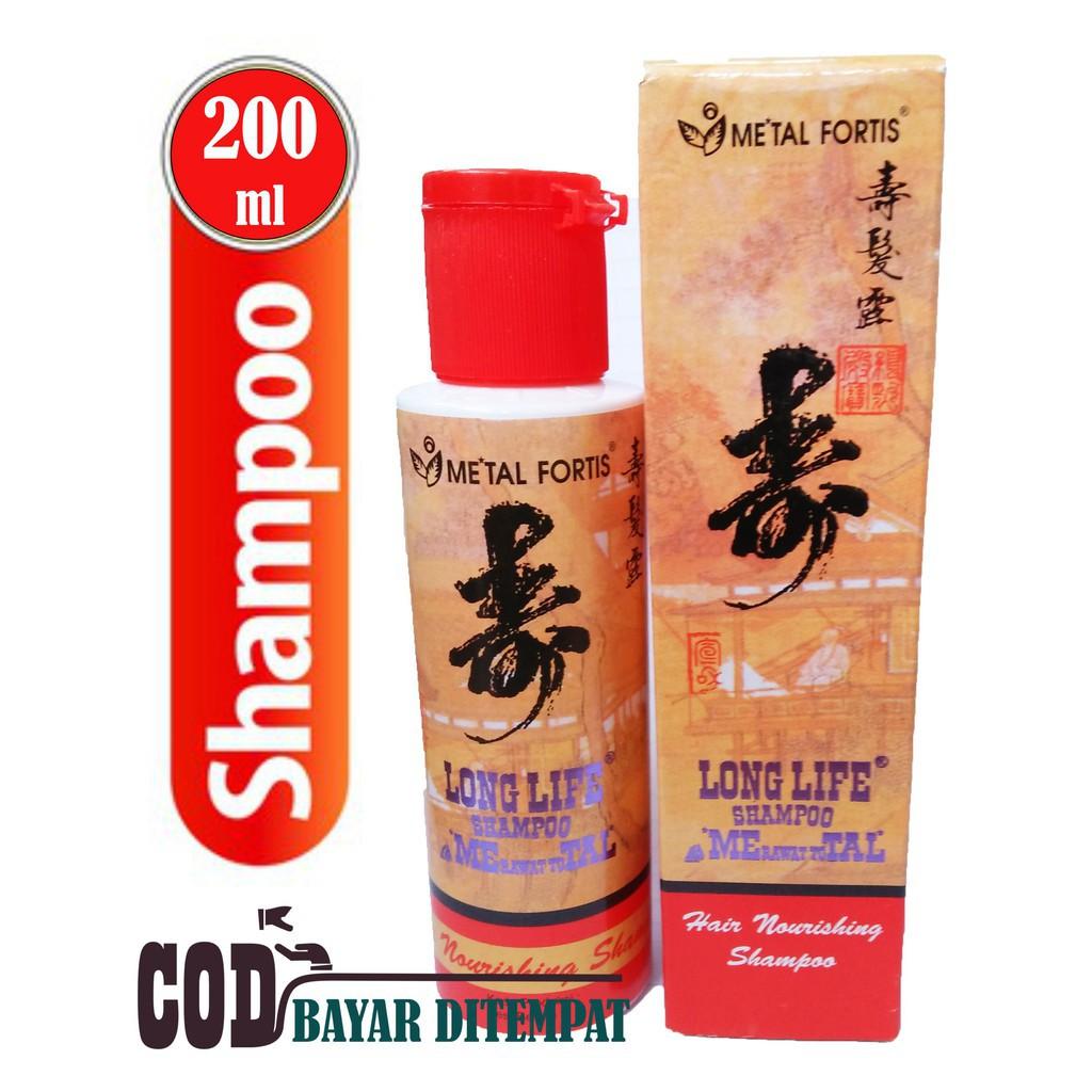 Metal Shampo Long Life 200ml Shampo Metal 200ml Original Bpom Shopee Indonesia