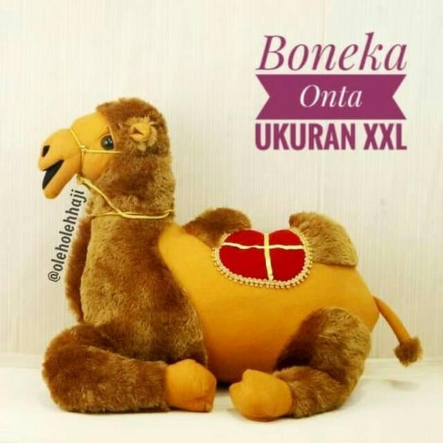 Boneka Onta Unta Ukuran L Mainan Edukasi Anak Lucu Unik Murah Souvenir Oleh  Oleh Haji dan Umroh  5fe430bd40