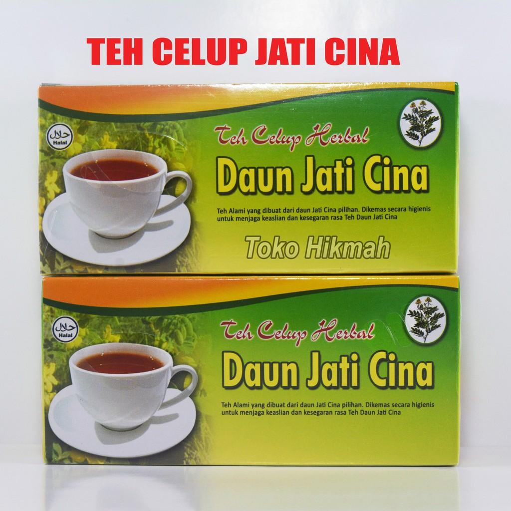 Teh Celup Herbal Daun Jati Cina Shopee Indonesia 500 Gram