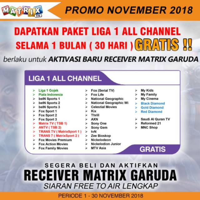 Matrix Garuda Mpeg4 HD