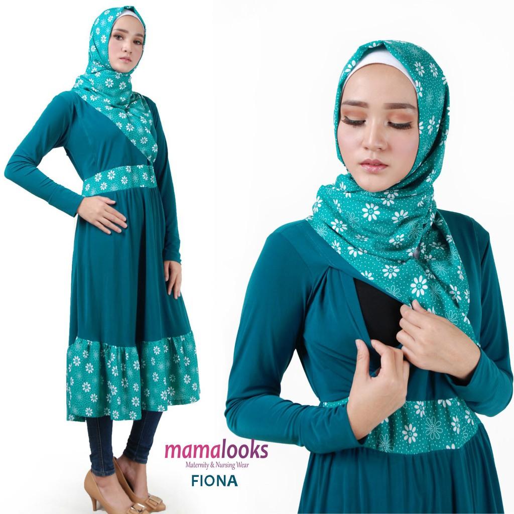 Tunik Menyusui Jasmine Js104 Navy Shopee Indonesia Just Mom Baju Hamil Gretta 105 Green