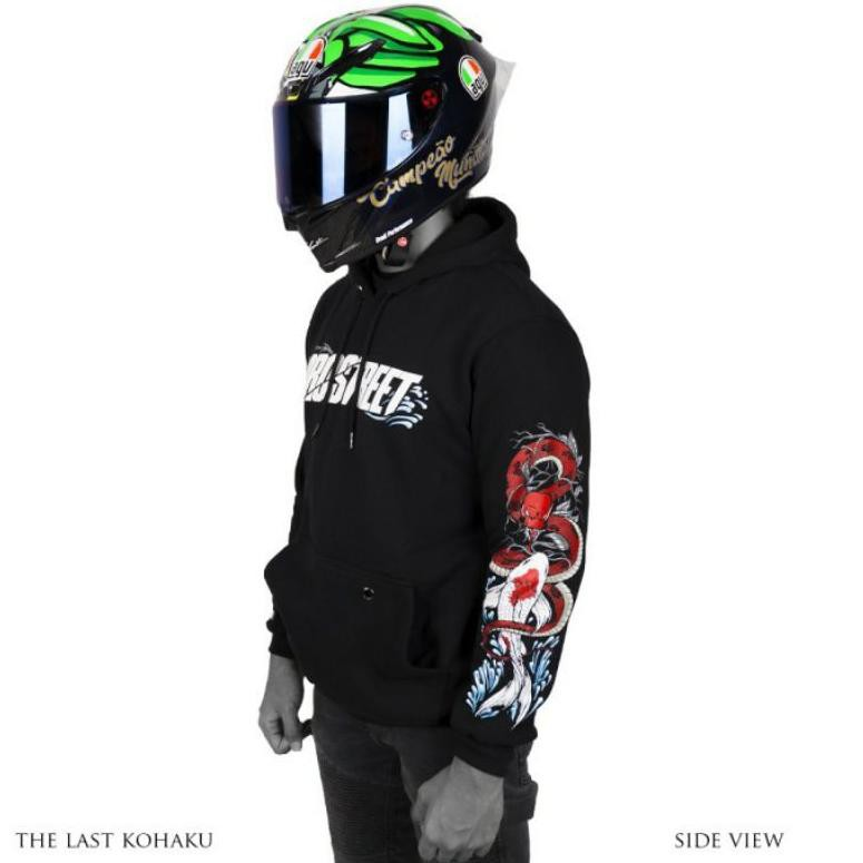 HOODIE PROSTREET THE LAST KOHAKU V3 NEW ORIGINAL | NOT BLOOD FLOWER | NOT ORIENTAL (ART. 427)