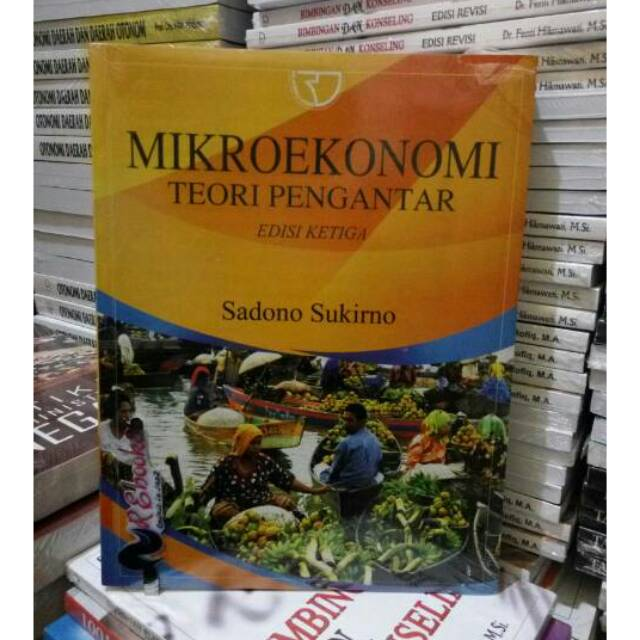 Mikroekonomi Teori Pengantar Sadono Sukirno Rajawali Shopee Indonesia