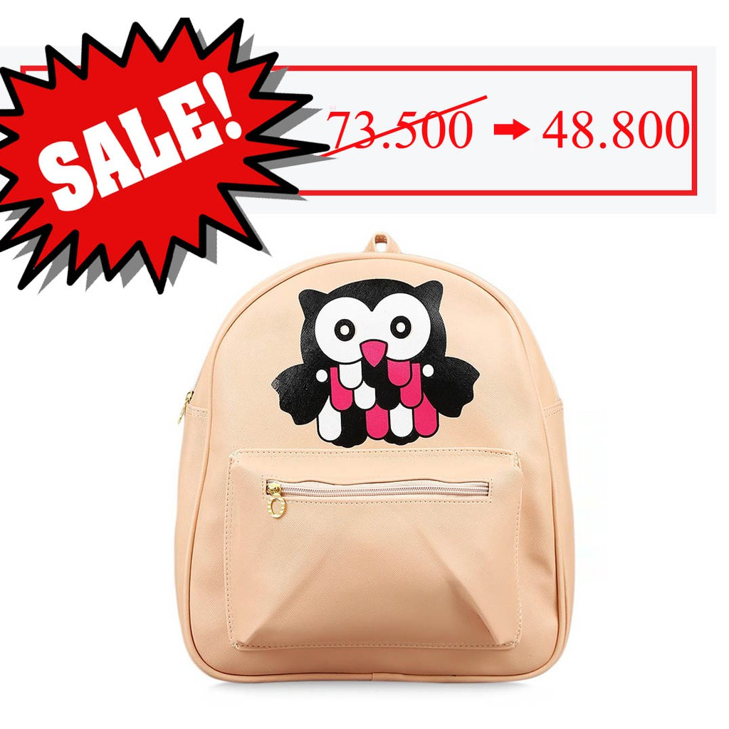 tas ransel korea I AM A GIRL / Korean I AM A GIRL backpack (4B5) BTA036   Shopee Indonesia