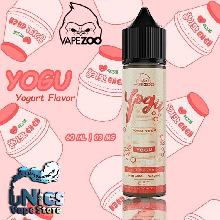Freebase Yogu Yogurt Flavor Liquid 60ml 03mg By Vapezoo Yoghurt Berasa Minum Yakul Shopee Indonesia